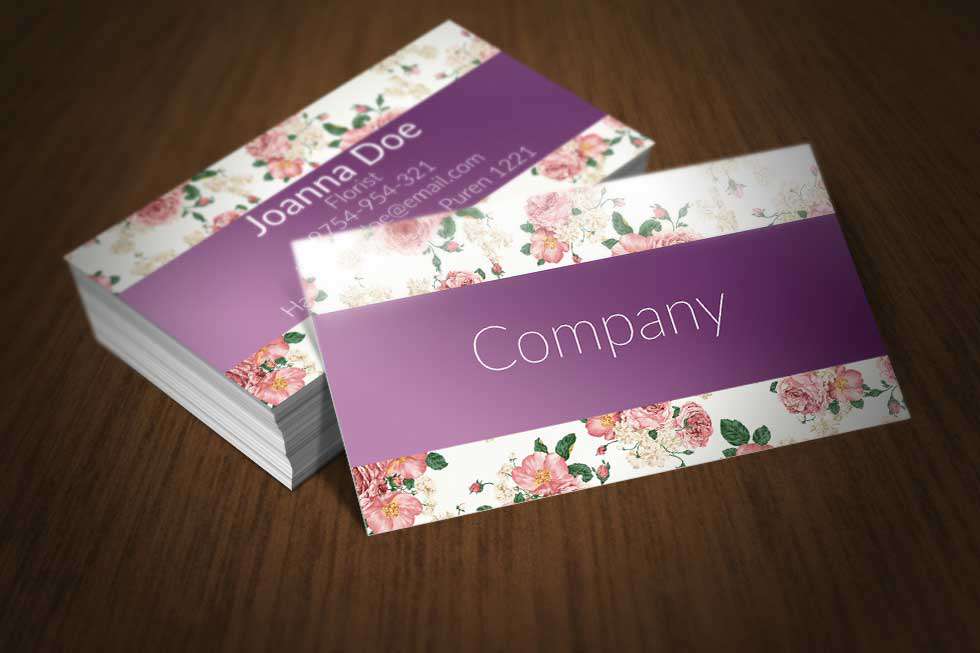 Floral_Business_Card_Template