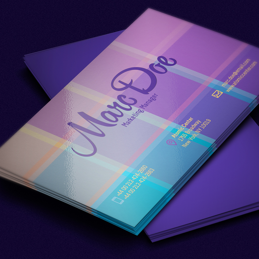 60 only the best free business cards 2015 free psd for Free business card templates psd