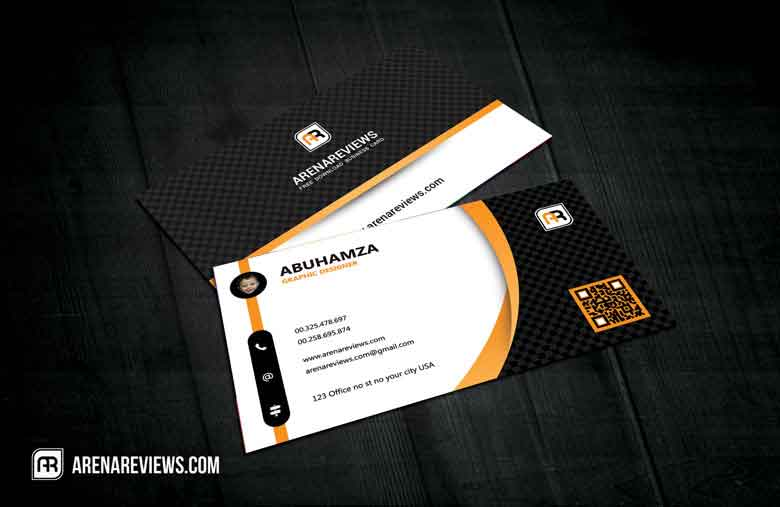 Professional Executive Class Business Card Template