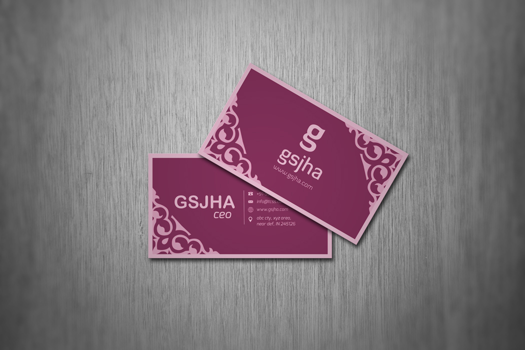 Elegant Gold And White Paisley Wedding Planner Business Card - Wedding business card template