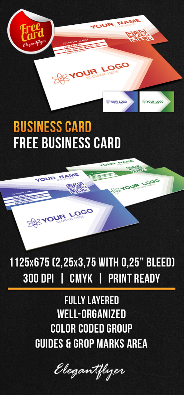 60 only the best free business cards 2015 free psd templates business card free psd template 2 fbccfo Choice Image