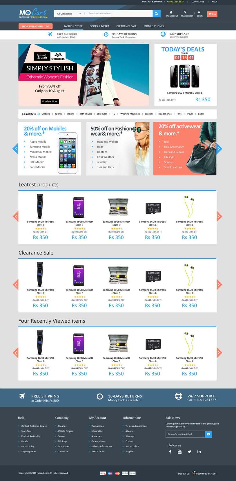 free ecommerce 8