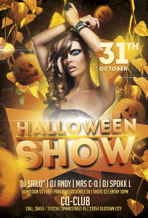 free-halloween-show-party-flyer-template-awesomeflyer-featured
