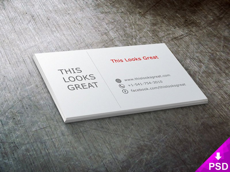 60 only the best free business cards 2015 free psd templates free psd business card tlgbusinesscardthumbnail friedricerecipe Gallery
