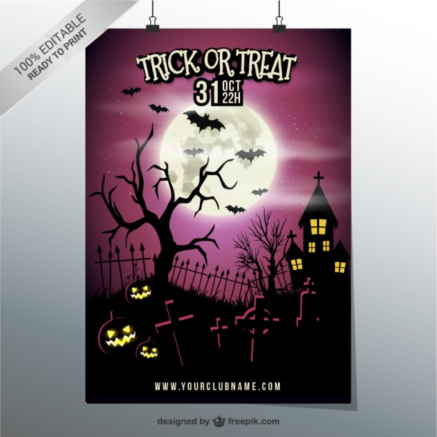 trick-or-treat-party-poster-template_23-2147497219