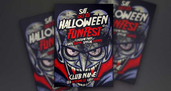 vampire-halloween-psd-flyer-template
