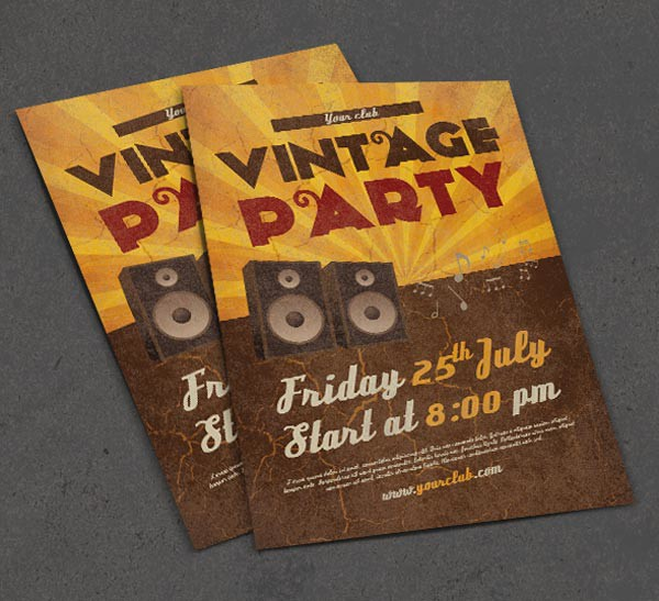 50+ Free & Premium PSD Themed Party Flyer Templates | Free PSD Templates