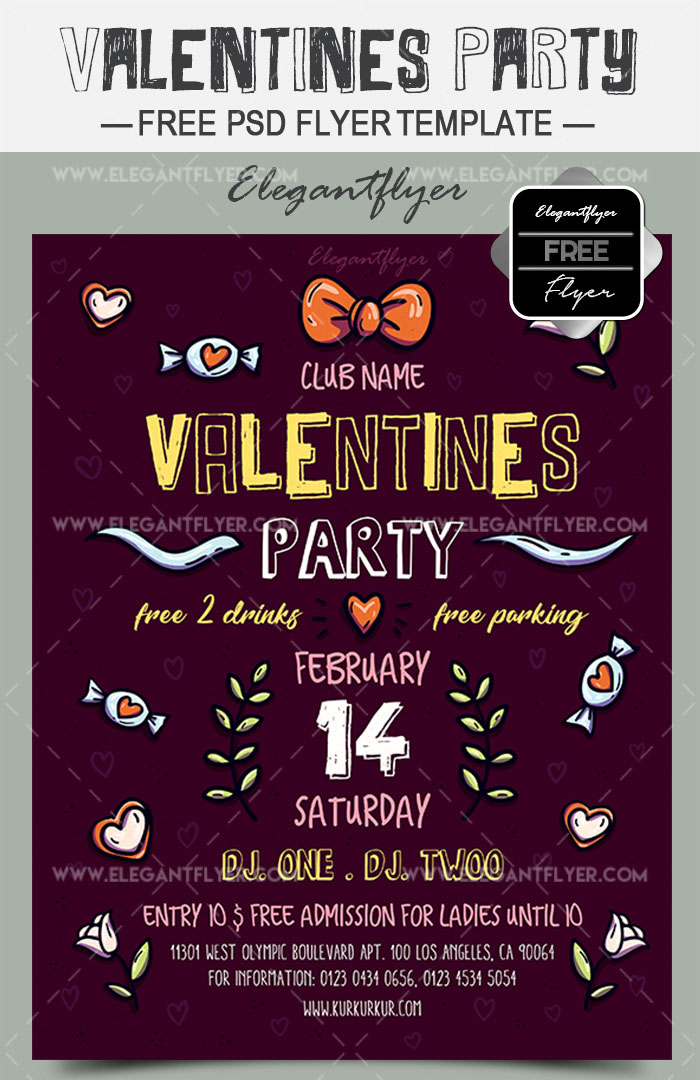 50+ Free & Premium PSD Themed Party Flyer Templates | Free ...
