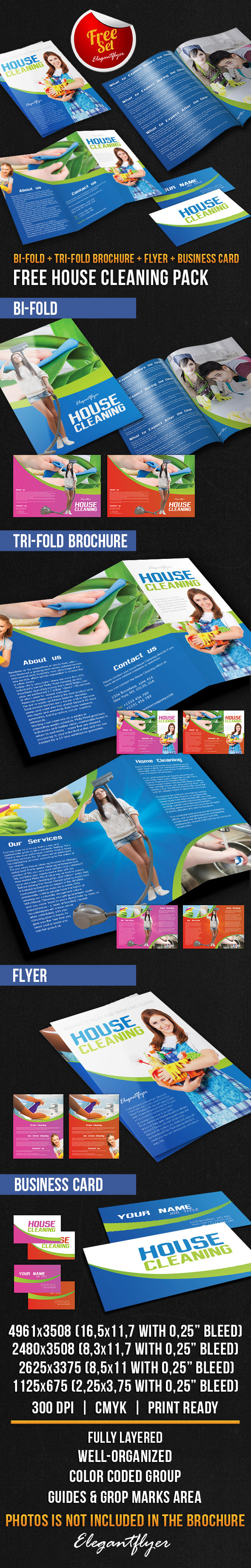 25 best psd brochure templates psd templates bigpreview house cleaning brochure pack psd template