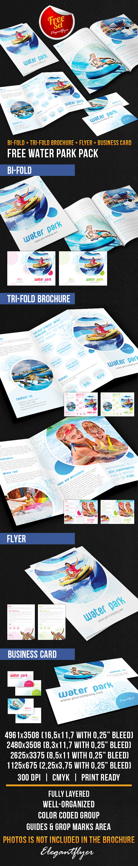 25 best free psd brochure templates free psd templates for Water brochure template