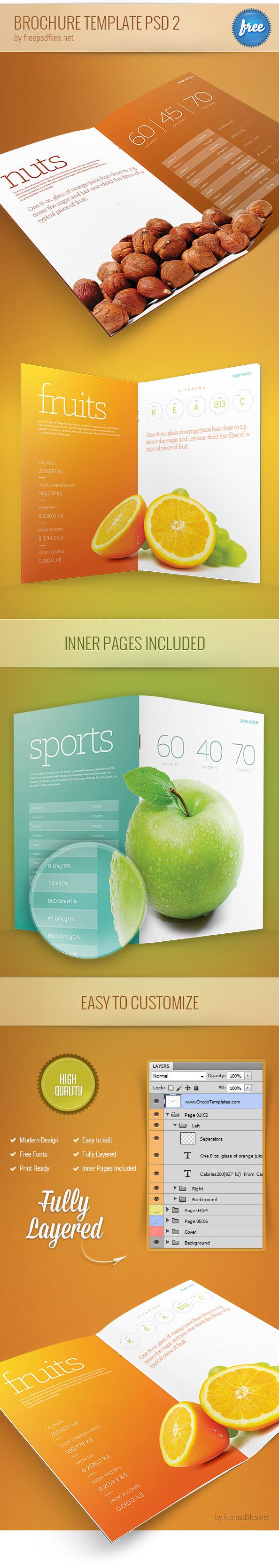 download brochure templates - 25 best free psd brochure templates free psd templates
