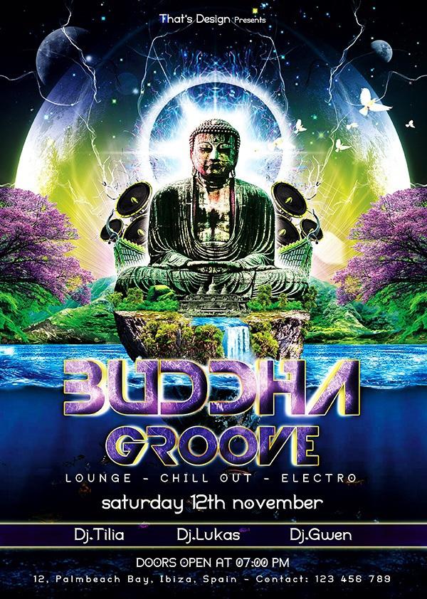 Buddha-Groove-Flyer-Template-600