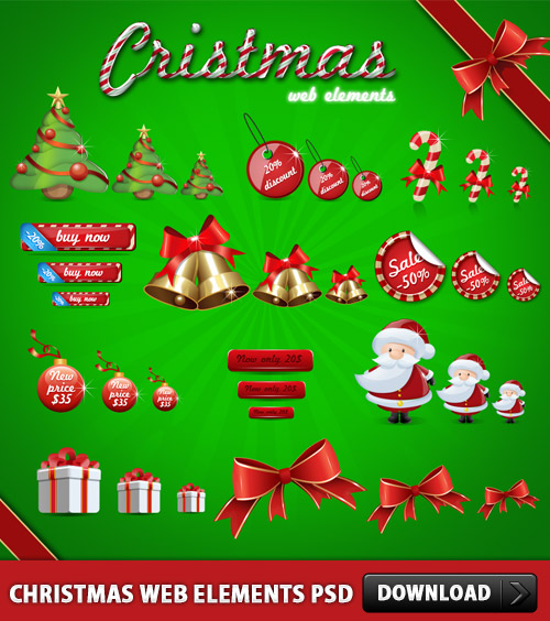 Christmas-Web-Elements-PSD-L