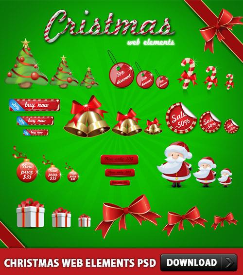 Christmas-Web-Elements-PSD-L