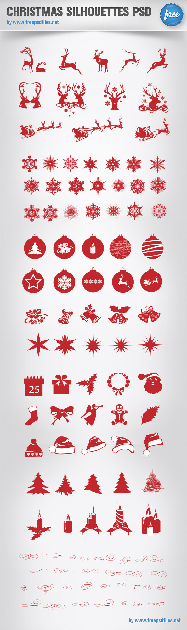 Christmas_Silhouettes_Mega_Pack_Preview