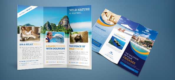25 best free psd brochure templates free psd templates for Free travel brochure templates