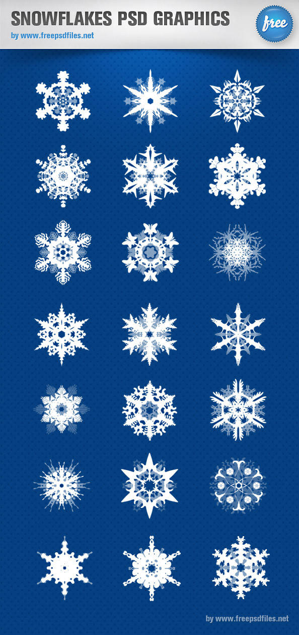 Snowflakes_PSD_Graphics_Preview_Big