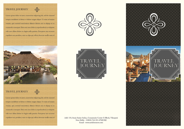 travel brochure template free - 45 free premium best psd brochure templates free