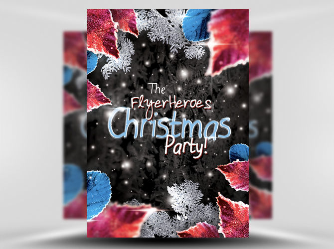 Free Psd Themed Party Flyer Templates  Free Psd Templates