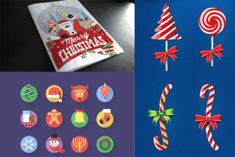 70 Best beneficial Christmas PSD templates and Graphic elements!