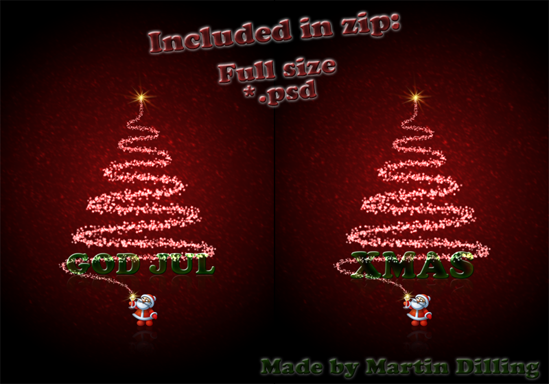 70 Best beneficial Christmas PSD templates and Graphic elements ...