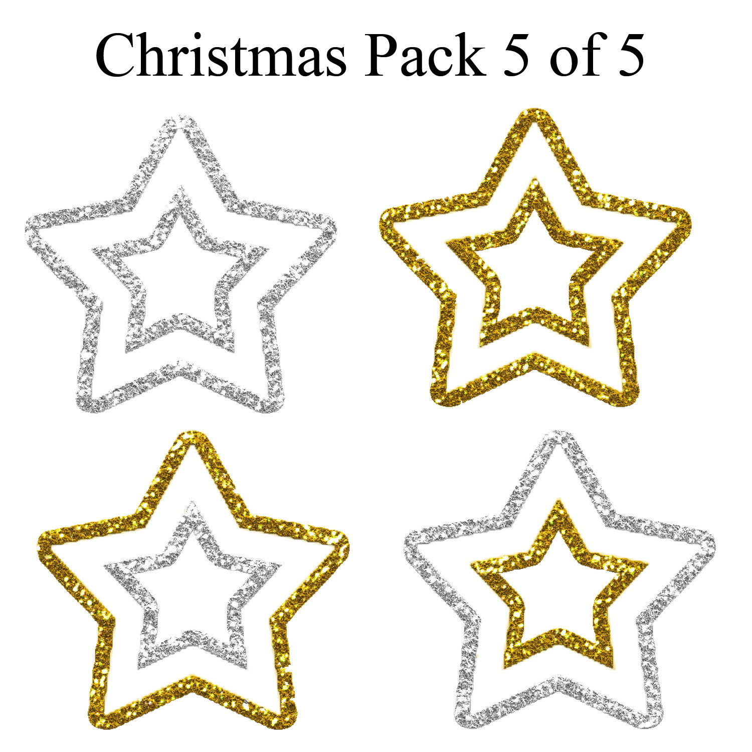christmas_pack_5_of_5___stars2_by_hermit_stock