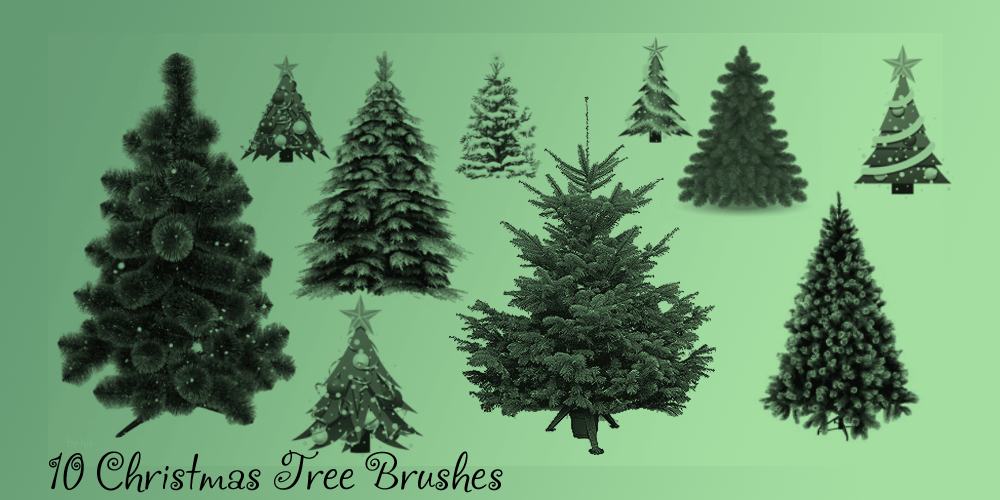 christmas_tree_brush_set_by_u_lys-d4ibvtq