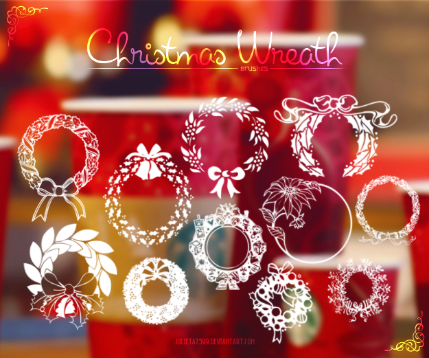 christmas_wreath__brushes__by_julieta7599-d6twt62