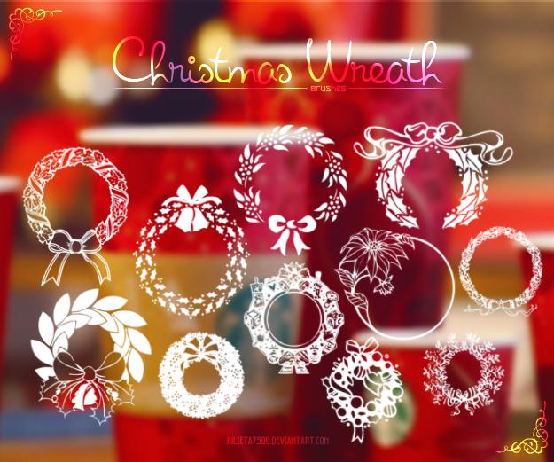 christmas_wreath__brushes__by_julieta7599-d6twt62