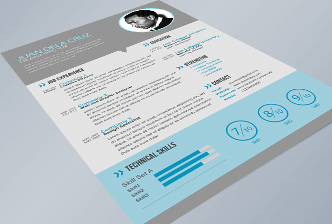 54  premium  u0026 free psd cv  resumes to find a good job