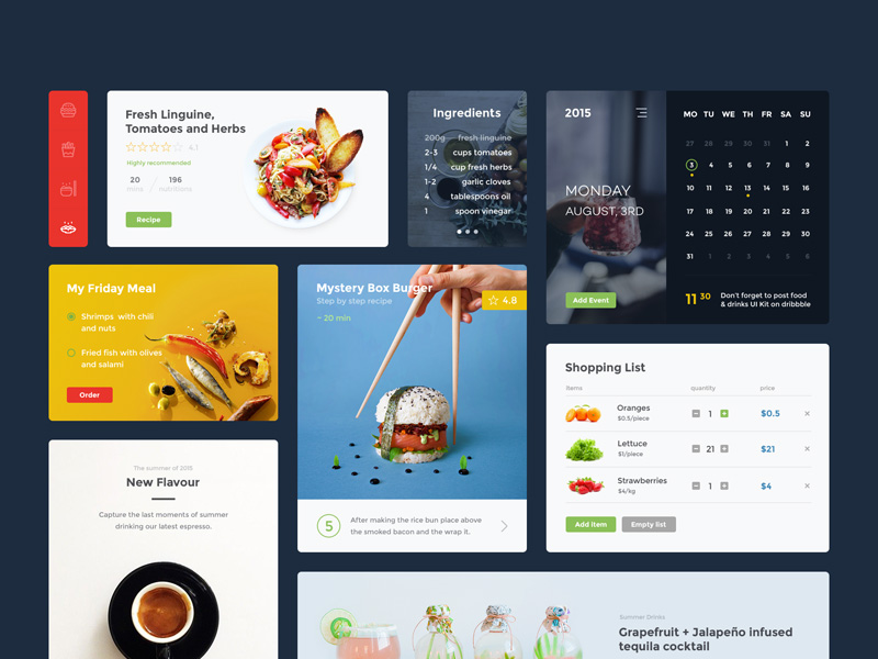 food-and-drinks-ui