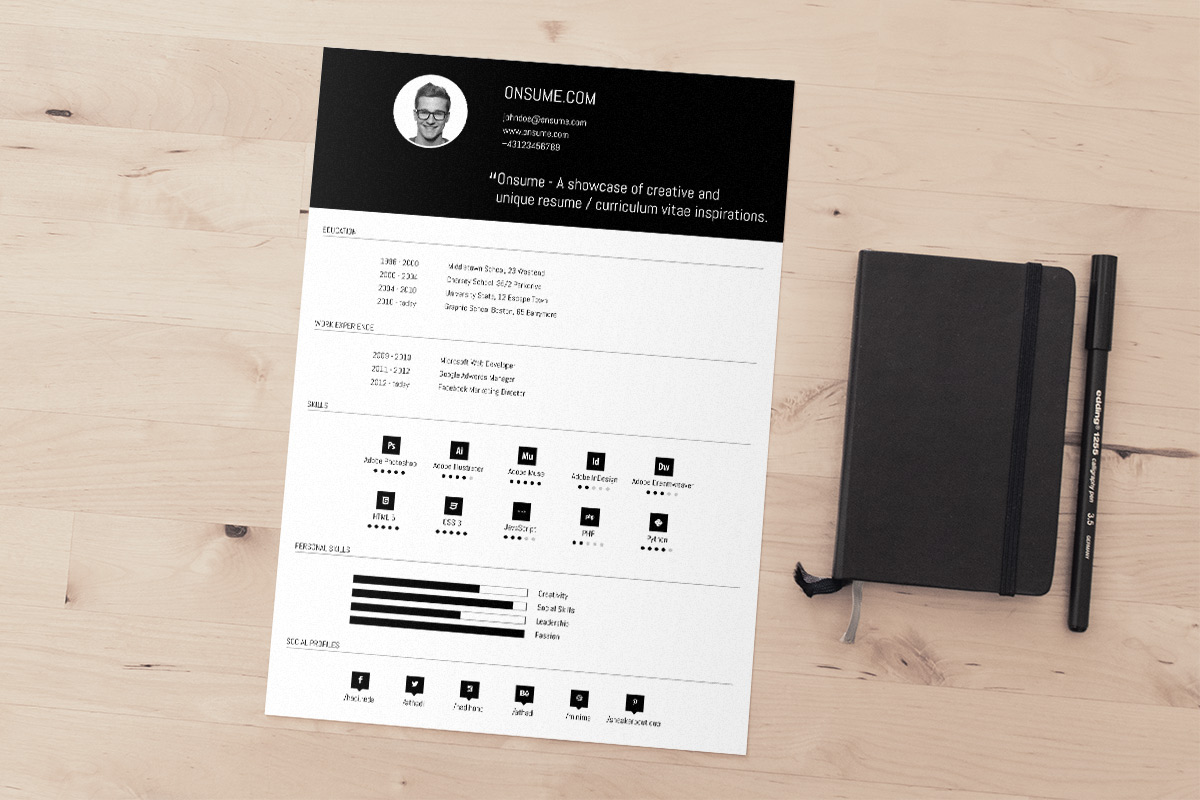 psd cv resumes to a good job psd templates psd cv template resume template