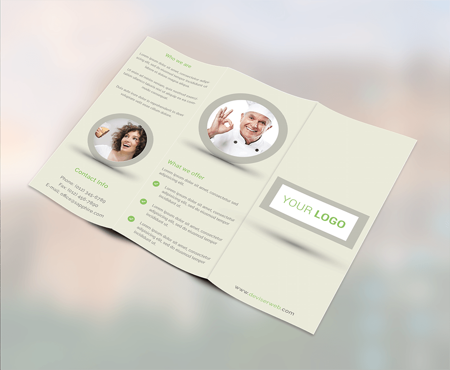 45 free premium best psd brochure templates free for Tri fold brochure templates free download