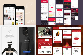 35+ PSD UI Kits for your inspiration!