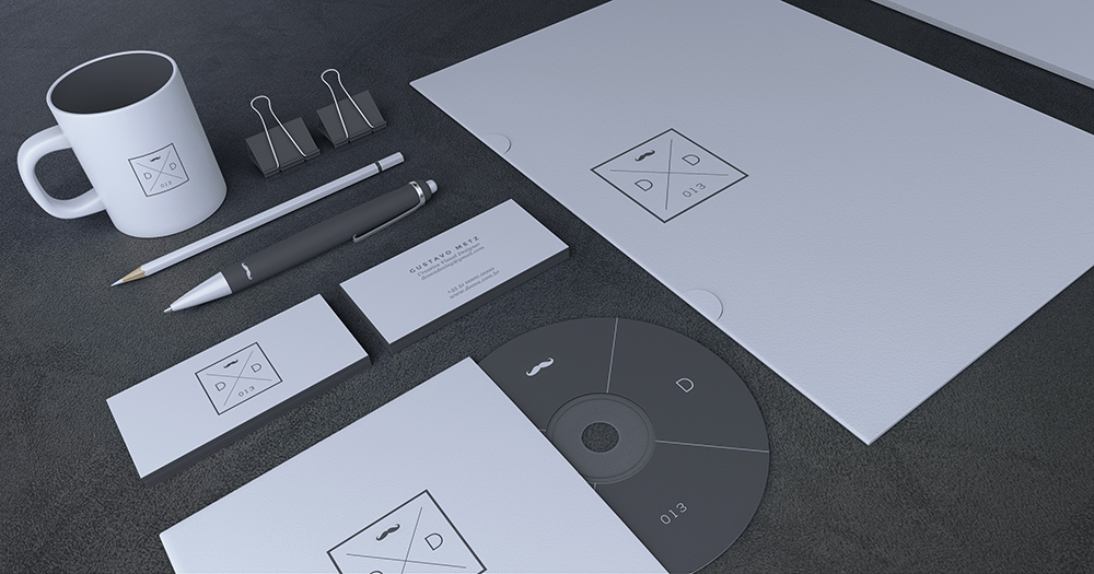 30  recognizable free psd stationery mockups