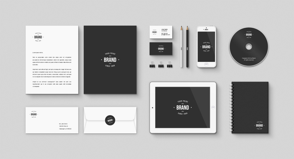 Corporate-Brand-identity-Free-Mockup-PSD-Kit