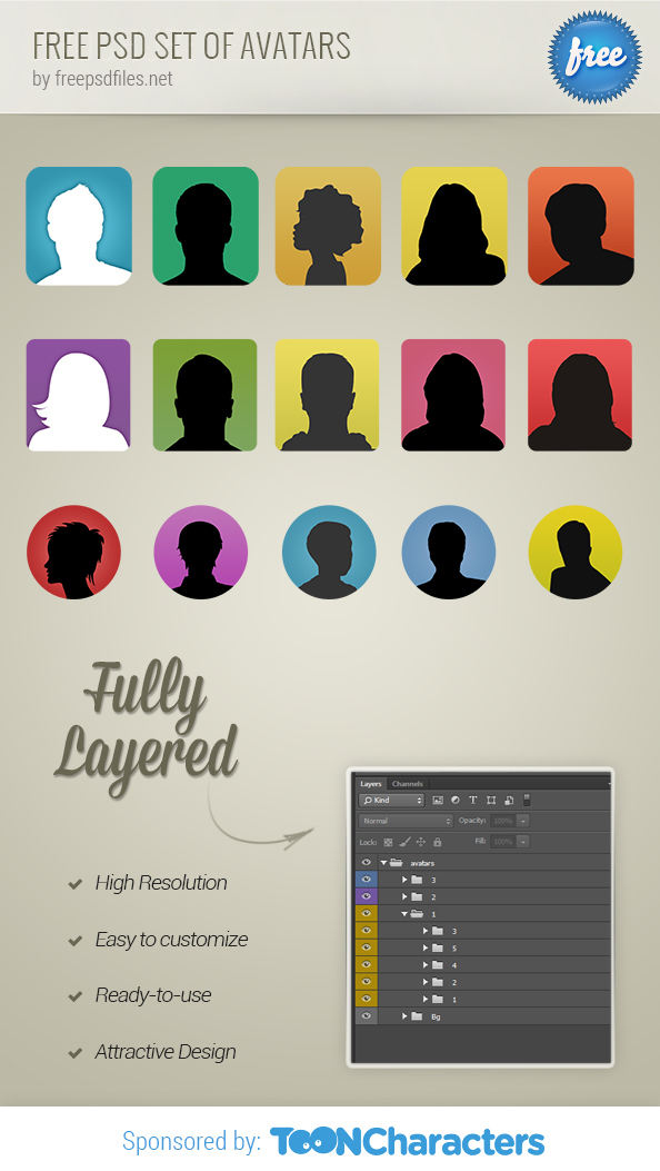 FREE-PSD-Set-Of-Avatars-big-preview