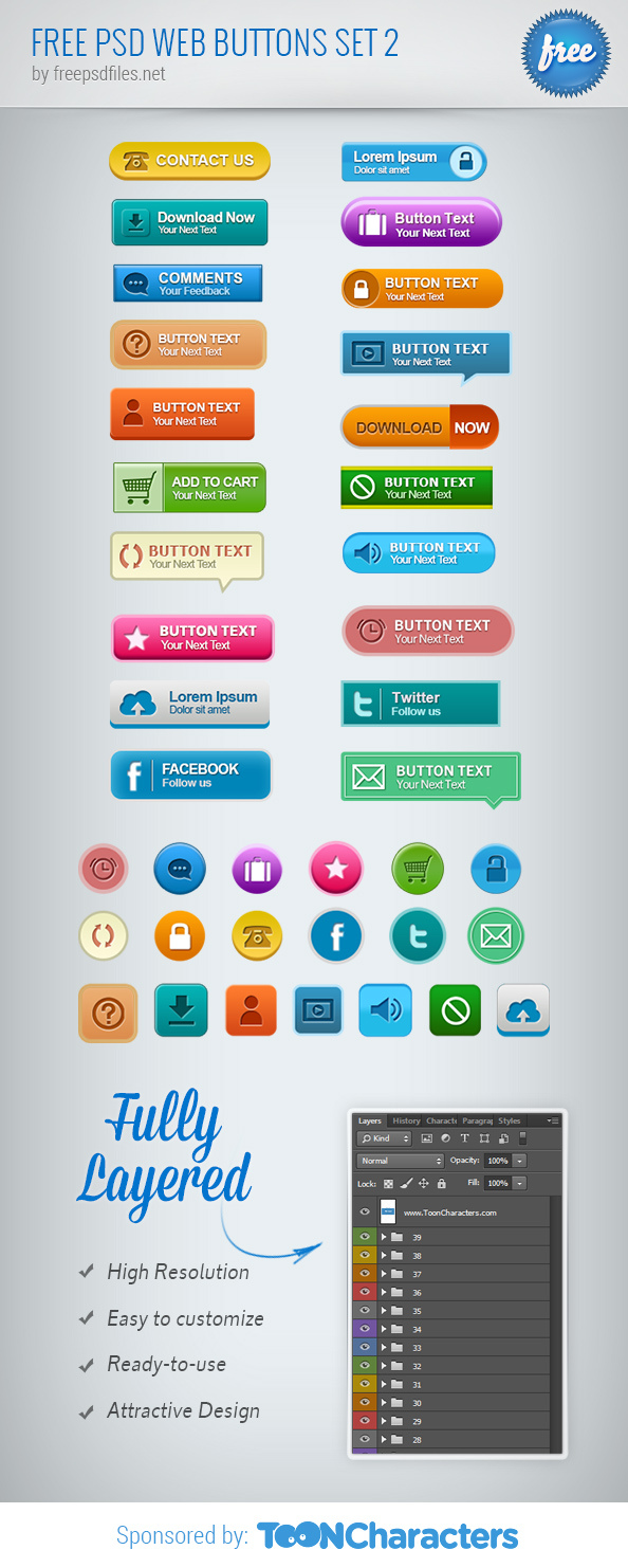 Free-PSD-Web-Buttons-Set-2_Big_Preview