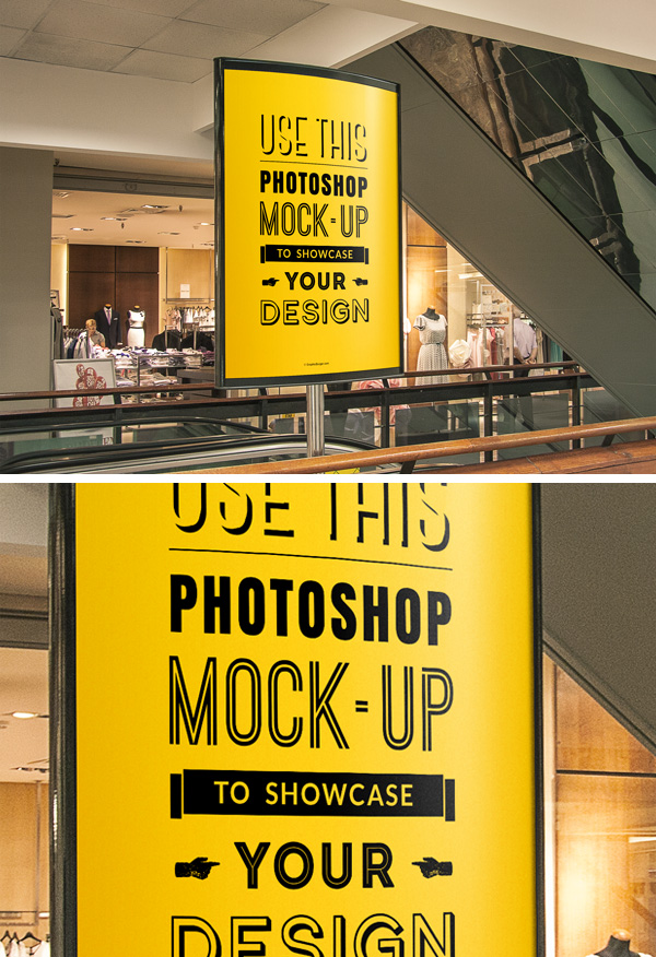 50+ Beautiful & Stylish Free PSD Frame/Poster MockUps for ...