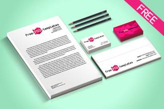 5 Free Branding Mock-UP in PSD