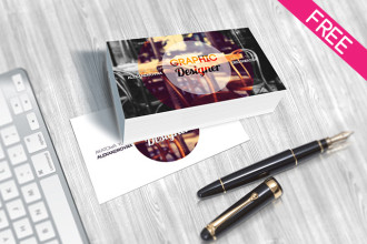 Business Card – FREE PSD MOCKUP