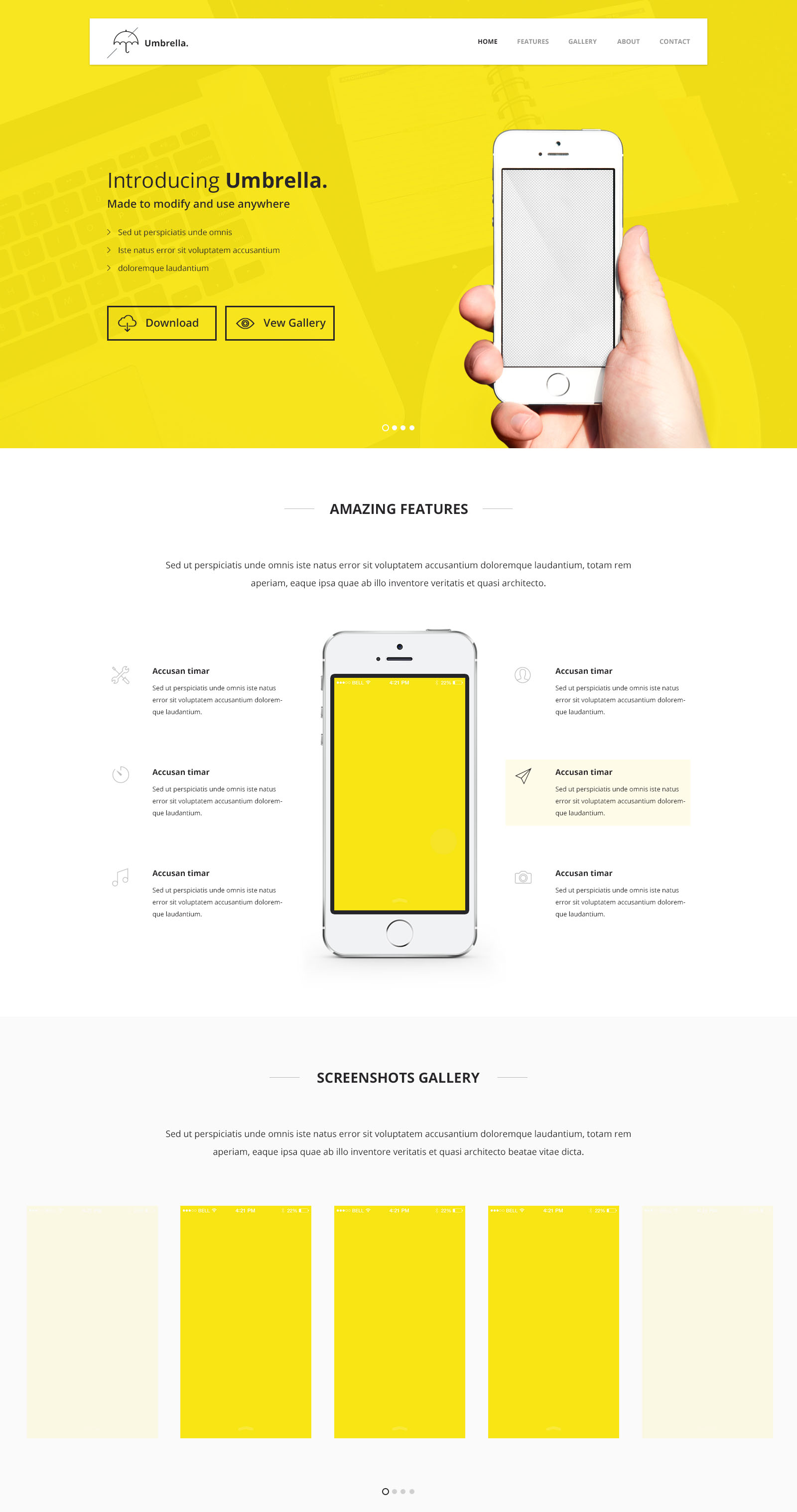 35+ Free PSD Landing Pages for special offers and ideas! | Free ...