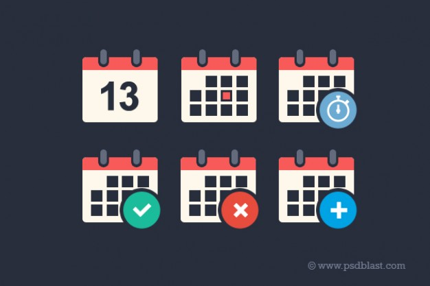 flat-calendar-psd-icon-set_60-2589