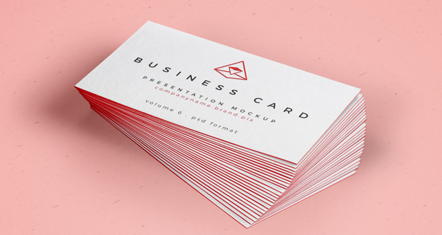 70 free psd business card mockups for great deals free for Business card presentation template psd
