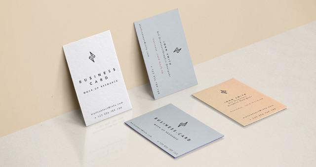 70+ Free PSD Business Card MockUps for great deals! | Free ...