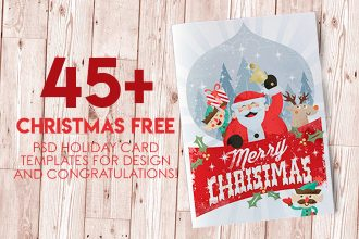 45+CHRISTMAS PREMIUM & FREE PSD HOLIDAY CARD TEMPLATES FOR DESIGN AND CONGRATULATIONS!
