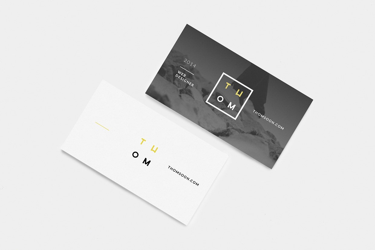 70 Free PSD Business Card MockUps for great deals