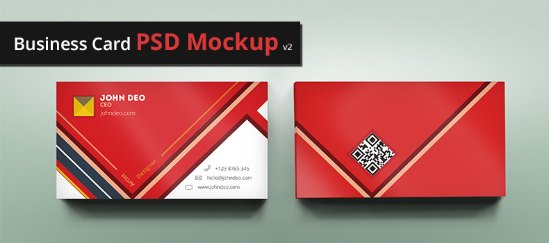 70 free psd business card mockups for great deals free psd templates for Business card psd free download