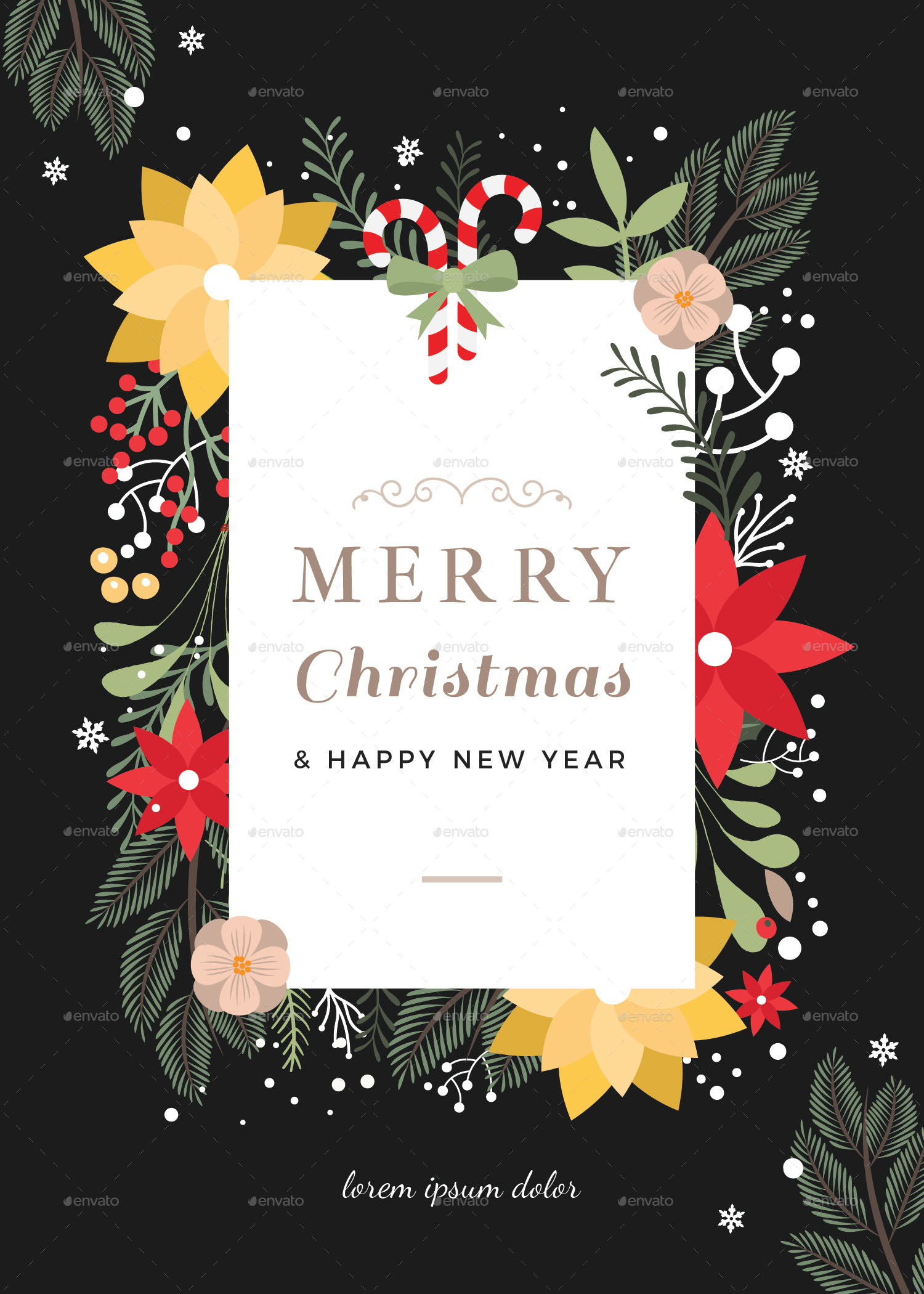 45+CHRISTMAS PREMIUM & FREE PSD HOLIDAY CARD TEMPLATES FOR ...