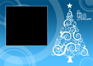 pbb_xmas_2 - Free Christmas Card Templates For Photoshop